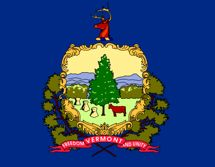 State flag of Vermont for cell phone safety site