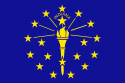Flag from Indiana