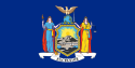 new york state flag for regional cities counties