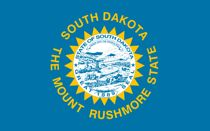 south dakota flag for cell phone law post