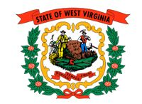West Virginia flag for cell phone post