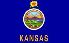 kansas state flag for texting report