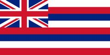 Hawaiian flag for cell phone information post