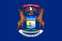 Michigan flag for cell phones info page