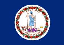 flag of Virginia for hands free story