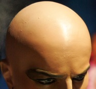 bald dummy for post on Ontario distracted-drivers