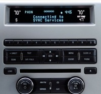 ford synch dashboard