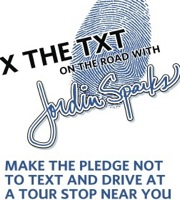 jordin sparks distracted driving poster