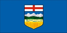 alberta flag image for distracted driving info page