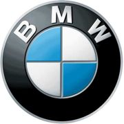 bmw auto logo for safety campaign