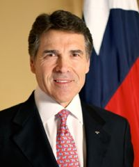 Rick Perry - governor who vetoed texting law