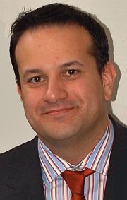 Irish road minister Leo Varadkar