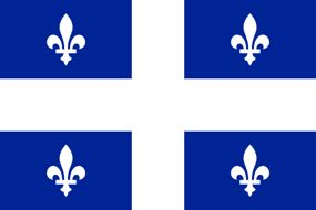 quebec flag for cellphone news