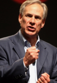 Gov. Greg Abbott of Texas